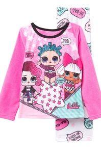 L.O.L. Surprise Fleece 2 PC Pajama Set